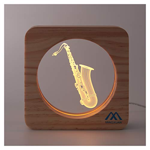 Saxophone Night Light
