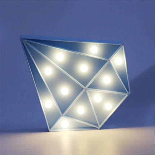 MTX Ltd Lumière de Nuit Créatif Décoratif Bleu Maçonnerie Lampe de Table Enfant Mignon Chambre de Bébé Alimentation de Baleine Nuit Lumière