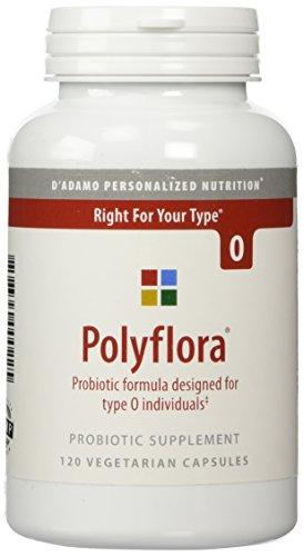 D'Adamo Personalized Nutrition Polyflora O, 120 Count