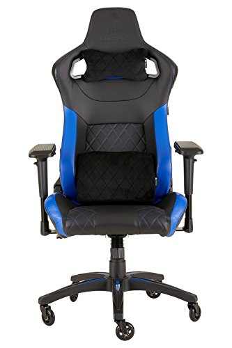 CORSAIR WW T1 Gaming Chair Racing Design, Black/Blue