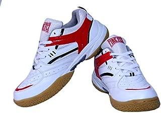EXCEL Badminton Shoe PU Indoor Men Professional Tennis/Raqcuet Non Marking Sole