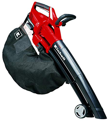 Einhell Cordless Leaf Blower vac GE-CL 36 Li E-Solo Power X-Change (2 x 18 V, 210 km/h air Speed,...