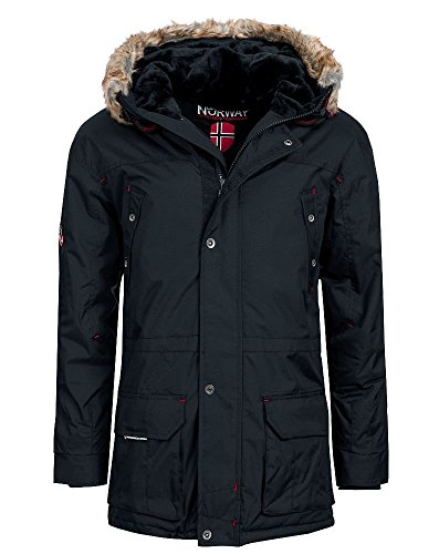 Geographical Norway Atlas Herren Winter Jacke Parka Parker Navy Gr. L