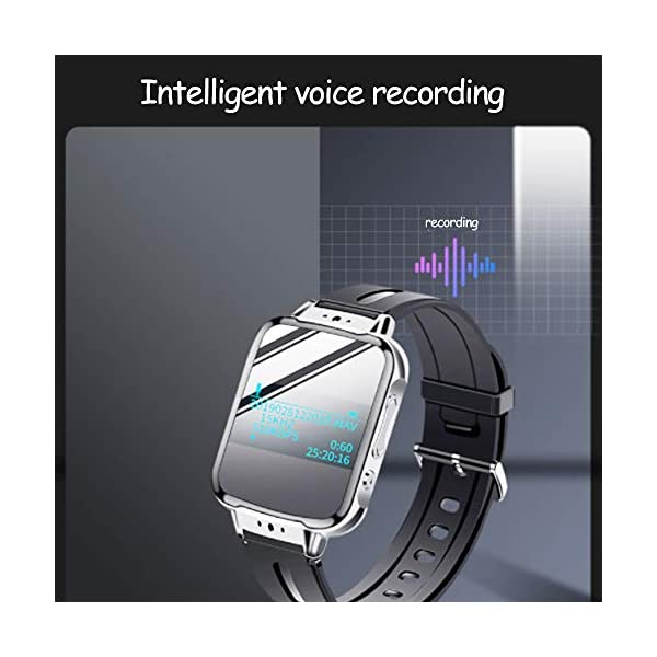 Bracelet Digital Voice Recorders 4GB Voice Activated Waterproof Recorder Noise Reduction MP3 Player with The New Bluetooth 4.2 for 20 Hours Working Time 5
