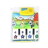 Ontracker Baby Kinder Musik Teppich Kleinkind Klavier Spielmatte Weiches Lernspielzeug für Jungen Mädchen -Wie gezeigt