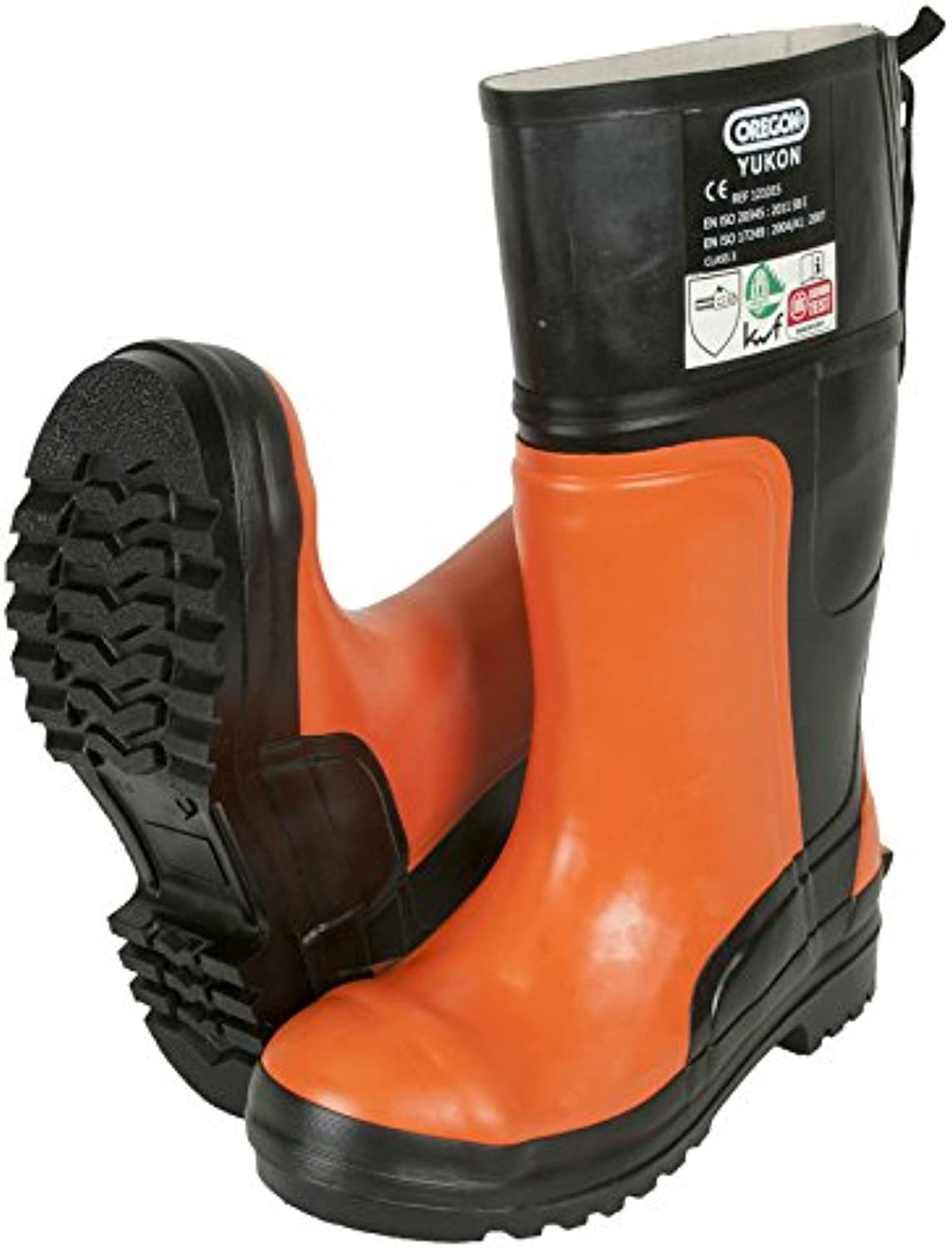 Oregon Yukon 295385 47 Chainsaw Predective Rubber Safety Boot, 47