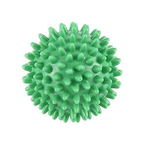 MEXCO Pelota de masaje de alta densidad de PVC Dolor en el pie y tratamiento de alivio de la fascitis plantar Bola de erizo Bola de acupresión