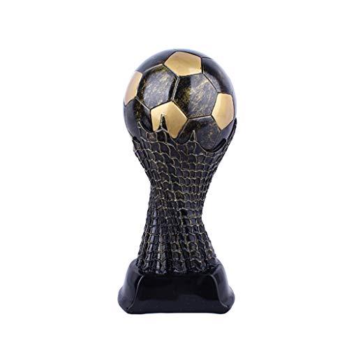 WK Voetbal Trofee Champions League Trofee Hars Ambachten Elektroplating Voetbal Fans Souvenirs Ventilator Geschenken Hoogte 27cm