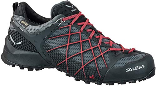 Salewa Herren MS Wildfire Gore-Tex Trekking-& Wanderstiefel, Black Out/Bergot, 43 EU