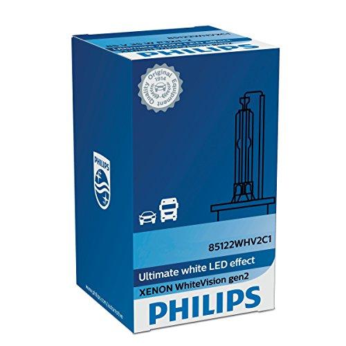 Philips D3S, effet LED, lumière blanche parfaite, jusqu'à 120% plus de Visibilité 42403 whv2 C1