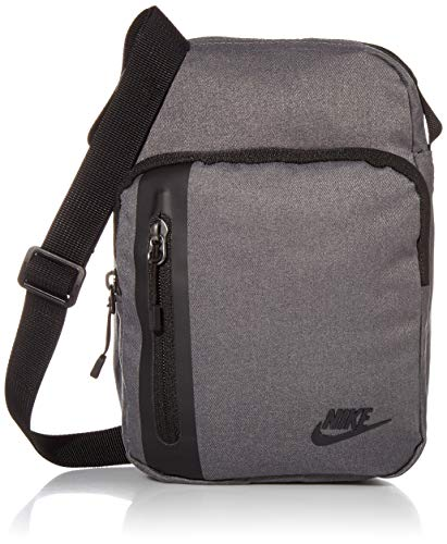 Nike Tech Crossbody Tasche, Dark Grey/Black/Black, One Size