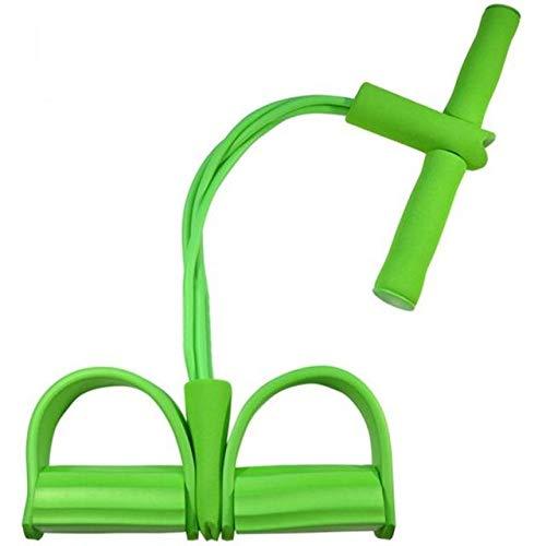 Kunyun Bandas de Resistencia de la Cuerda de la Cuerda de la Cuerda del Yoga Deporte del Deporte del Deporte del Deporte del Deporte Cuerda de los Abdominales. (Color : Green)
