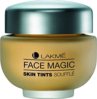 Lakme Face Magic Skin Tints Souffle Foundation(NATURAL SHELL FOR WHEATISH SKIN)