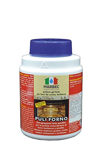 Marbec - PULI FORNO 1KG | Pulitore gel forte igienizzante per forni da cucina, barbecue