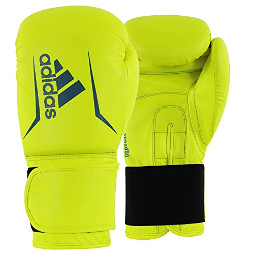 Adidas Speed 50 Boxing Gloves 10 12 Ounces Pink Black White