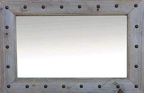 MyBarnwoodFrames Rapid rise - Bunkhouse Style Reclaimed Mirror Barn free Wood wi