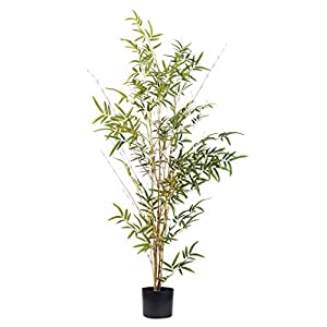 SHUMACHENG2020 Plants Artificial Artificial Potted Plant Bamboo Tree for Home Decor Artificial Bonsai