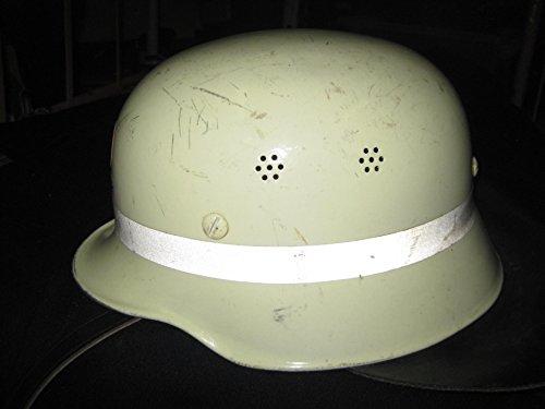 NVA Feuerwehr -Schutz -Motorrad-Helm Stahlhelm Schutzkleidung