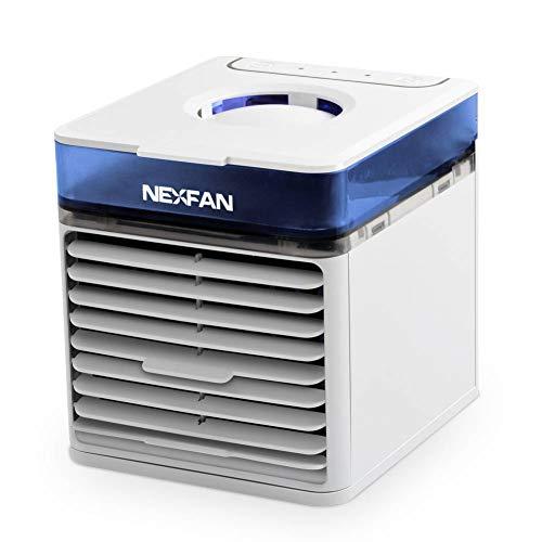 【2020年最新バージョン】冷風扇 NexFan 多機能ポータブル 扇風機 卓上冷風機 除菌 フィルター USB給電式 ...