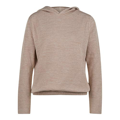 OPUS Damen Gabu Sweatshirt, Macadamia, 40-44