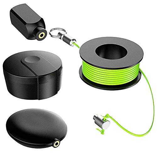 Wiremag Puller, Magnetic Cable Fishing Tools Father's Day Gift, Magnetic Wiremag Puller Magnet Pull Fishing Wire for Walls, Office And Garden Repair Wire Fishing, For Your Home And Outdoor