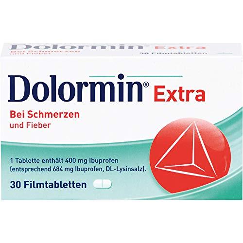 Dolormin Extra Bei Schmerzen und Fieber 30 Filmtabletten