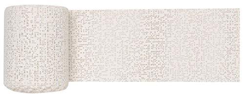 GLOREX 6 9502 00 - Keratex Gipsbinde, 10 cm x 5 m, hautfreundliches Modelliergewebe, zum Basteln und Modellieren, für Masken und Abdruck von Babybauch