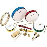 Nino Percussion NINOSET012 Classroom Rhythm Set, 12-Piece