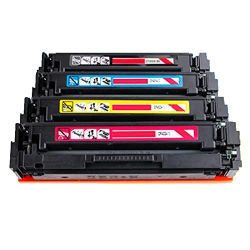 XIGU para HP CF400 Reemplazo de Cartucho de tóner Compatible para HP Color Laserjet Pro M252DW 252N MFP M277DW 277N Impresora, Fábrica de la Escuela Imprimir Color vibran Combination