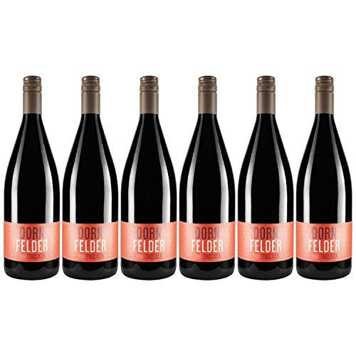 """Nehrbaß - """"Dornfelder 2018"""" - Rotwein trocken 6 x á 1 Liter - Qualitätswein - Vegan - Aus Deutschland (Rheinhessen) - mit Schraubverschluss"""