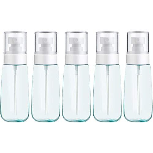Botella vacía de Viaje cosmético 10 PCS Portátil PRONDILIZA Principal PERFUMA Fine MIR Perfume Botella Transparente EQUILIBLE PUSPURADOR PUSPURADOR BOTELLO, 100ML (Color : Blue)