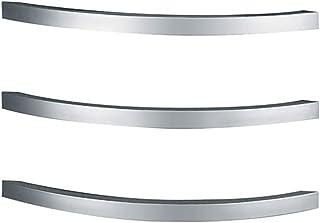 ZJINHUI Calentadores de Toallas de baño, 3 Barras Bastidor de Toallas calentado eléctrico cableado para baño Carril de Toalla calentado Bastidor de Secado de radiador de baño, Pulido