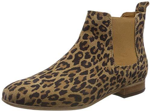 Tamaris Damen 1-1-25344-32 273 Chelsea Boots, Braun (Leopard 273), 38 EU