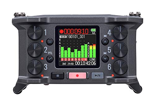 【国内正規品】 ZOOM ズーム 6chフィールドレコーダー F6