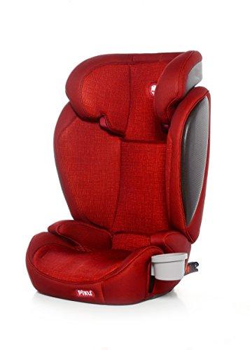 Piku Kliku Fix - Silla de Coche Grupo 2/3, color Rojo