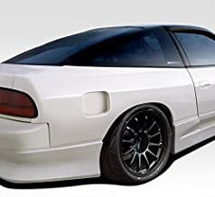 Extreme Dimensions Duraflex Replacement for 1989-1994 Nissan 240SX S13 HB G-PR 50MM Rear Fender Flares - 2 Piece