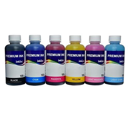 Tinta Inktec Premium E0014 para recargar Cartuchos 24, 24XL, Impresora Expression Photo