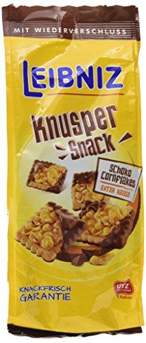 Leibniz Knusper Snack Cornflakes Schoko, 5er Pack (5 x 150 g)