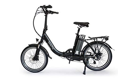 Premium xGerman Touring eléctrico-bicicleta plegable 50,8 cm eTurbo 9-velocidades LCD, 250 W...