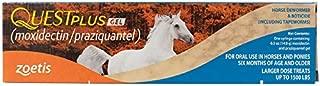 Zoetis Animal Health Quest Plus Gel Equine Dewormer (4 Pack)