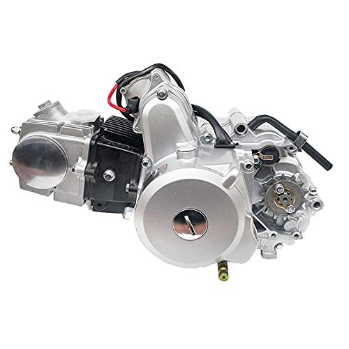 125cc Motorycle Motor Semi Automatic Clutch 4 Velocidad para los niños Pit Bike Motorycle Monkey Bike Motor (Color : A)