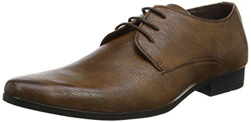 New Look Gibson, Zapatos de Cordones Derby Hombre, Marrón (Tan), 44 EU
