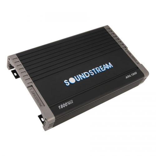 Soundstream AR4.1800 Arachnid Series 1800W Class A/B Full Range Amplifier