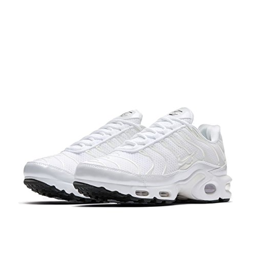 "Nike Air Max Plus Premium TN ""Triple White"", Schuhe Damen, 37.5 EU"