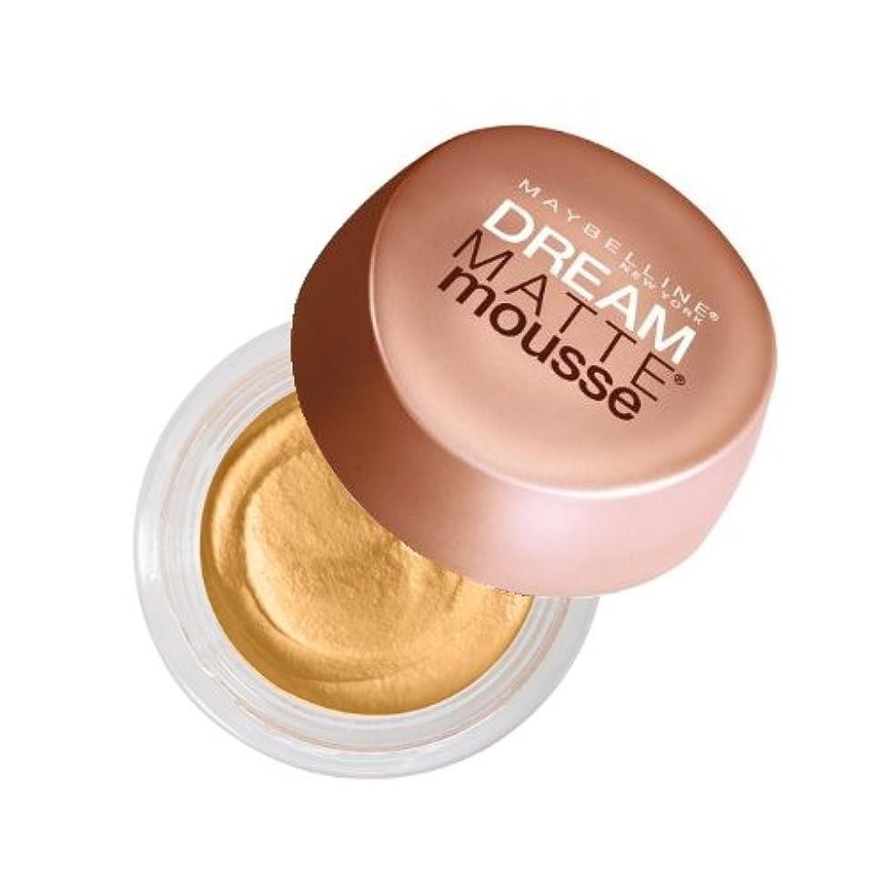 理容師カセット草(6 Pack) MAYBELLINE Dream Matte Mousse - Nude (並行輸入品)