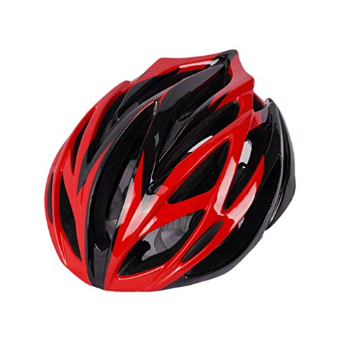 Angyu Adult Cycling Bike Helmet High-Strength Safety Protection Adjustable Lightweight Bicycle Helmet with Reflective Stripe for MTB Mountain Bicycle (Style 10,(54-63) cm)