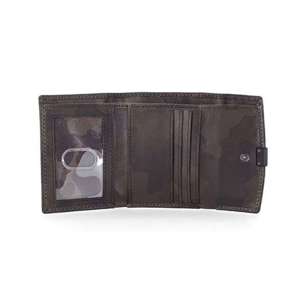 Timberland Women's Leather RFID Small Indexer Snap Wallet Billfold 2