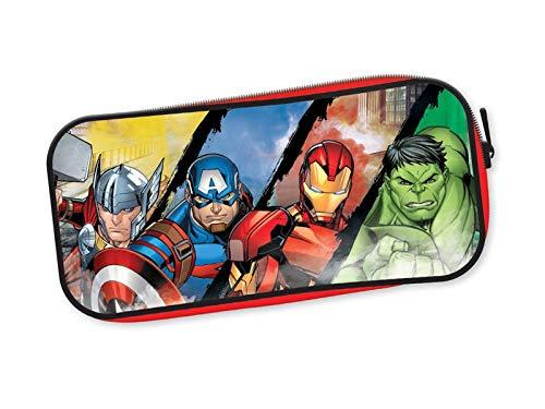 Marvel Avengers Thor Hulk Ironman & Captain America Deep Fill Pencil Case