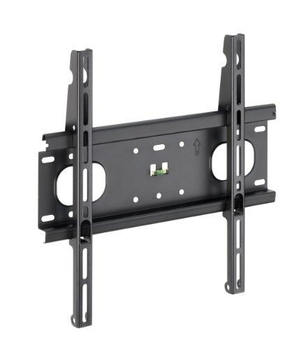 Meliconi F400 (480074) TV Wandhalterung 102-127 cm (40-50 Zoll), max. 45 kg, Universell max. 400 x 400, Schwarz.