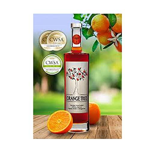 Vino con naranja Orange Tree de 70 cl - D.O.Condado de Huelva - Bodegas Brandy Caramelo (Pack de 1 botella)